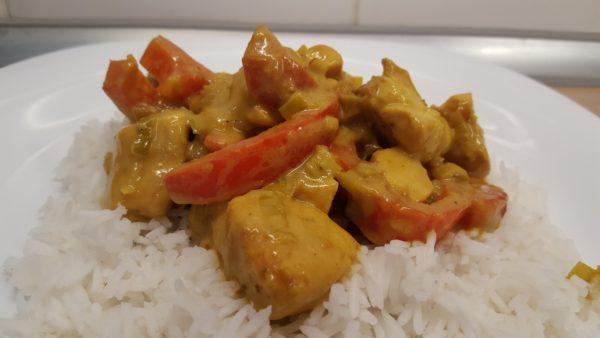 thai paleo csirke curry